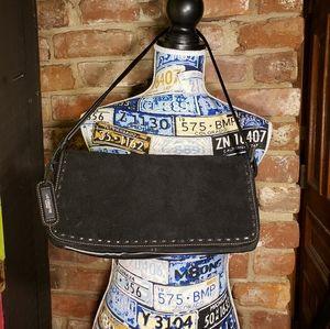 Liz Claiborne suede purse